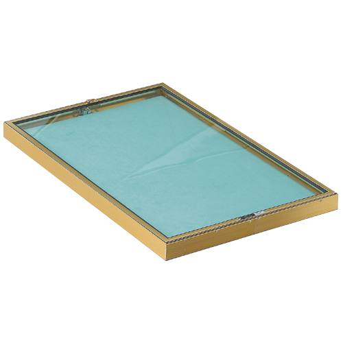 Portable Display Case Short Hinged 22 Quot W X 34 Quot L X 2 Quot H Trio