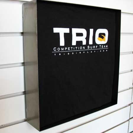 T-Shirt Metal Display Box TRIO Display