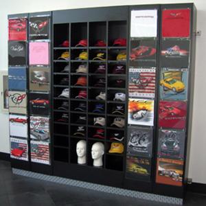 T shirt display trio display for Retail shirt display ideas
